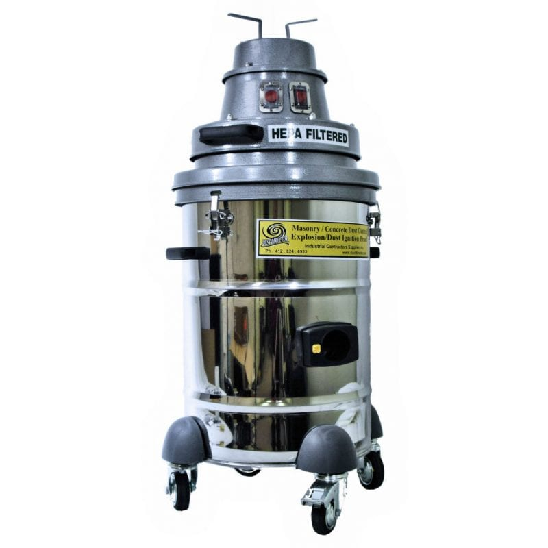 10 Gallon Compact, Lightweight Explosion Proof Vacuum - 120 volt model.