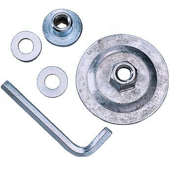 Diamond & Abrasive Wheel Adaptor Set.