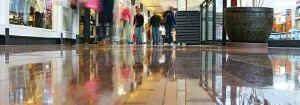 Shopping malls, warehouse floors, business, residential, etc.