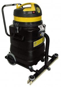"Powerful 2-Motor Suction + 30"" Floor Squeegee = Fast & Impressive ""Dry"" Floors."