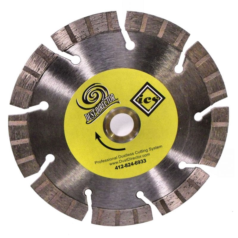 "Turbo Segment Diamond Blades - Tall 15MM (1/2"" +) Segment Height ~ General Purpose to Hard Material."