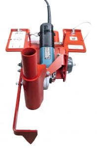 "6"" Hybrid - Used for dustless saw cutting."