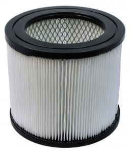 Dust Release & Water Shredding HEPA Cartridge Filter, included with each Dust Director Vacuum & Cyclone.