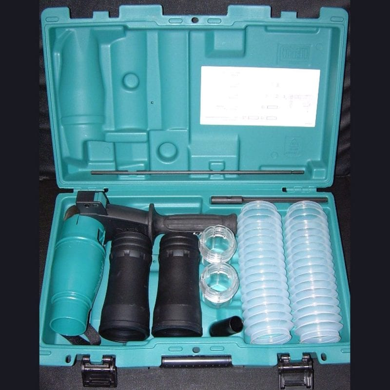 Complete Dust Control Kit - Drilling & Chisels, for SDS Max Rotary Hammers.
