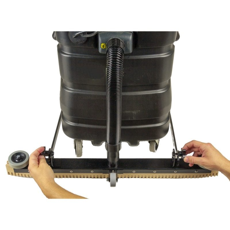 "30"" Floor Squeegee, front blade is completely and easily adjustable (and removeable for transporting)."