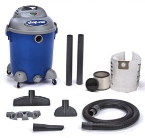 "Shop Vac - 16 Gallon Tank with 2-1/2"" x 6' Hose."