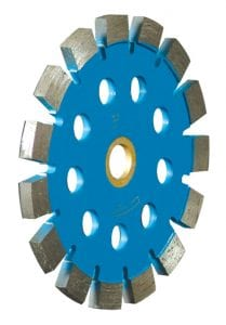 """Speed-Kut Tuck Blade with 1/2"""" cooling holes."""