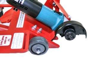 "6"" Dustless Crack Chaser. Also performs saw and radius cutting but without dust control."
