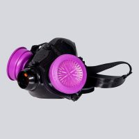 7700 Half-Mask Respirator (shown with optional filter.)