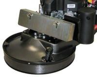 Weight Plates (5) & Steel Dust / Splash Guard.