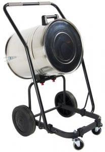 24 Gallon Tipping Cart - Easy debris disposal.